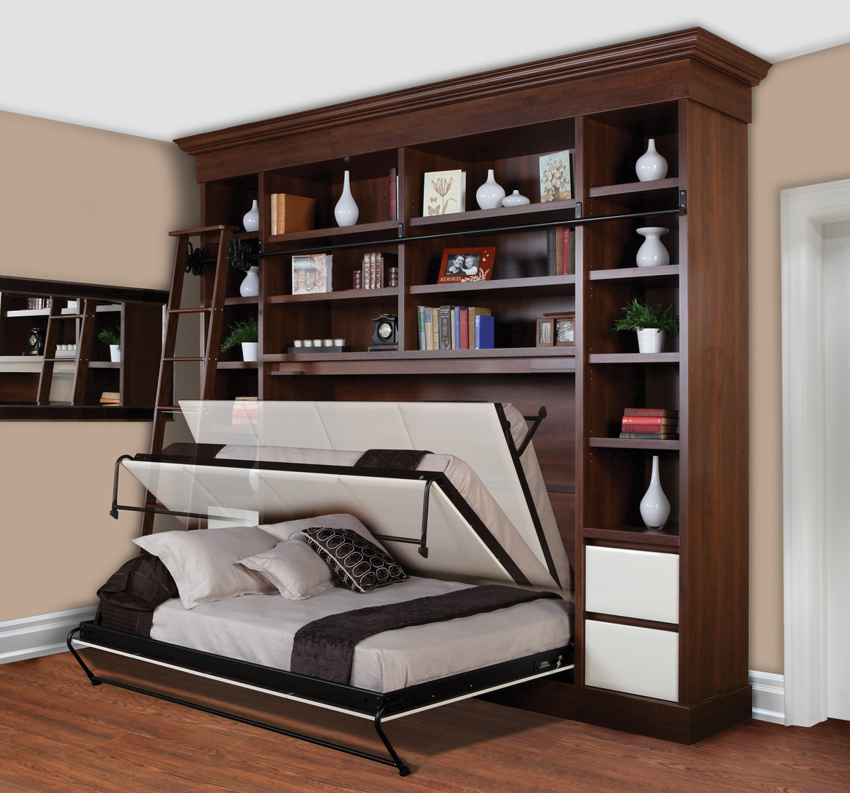 Beds That Come Down From The Wall Images Home Wall Decoration Ideas in proportions 1200 X 1119 - Walls Decor